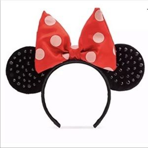 Disney lLE sequin Minnie Mouse ears NEW